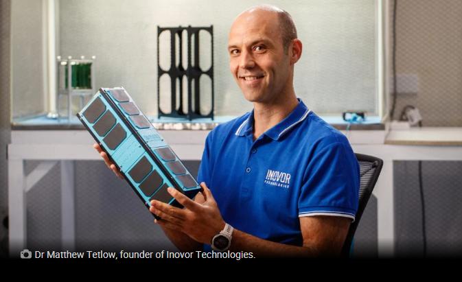 Inovor Technologies reaching for the stars