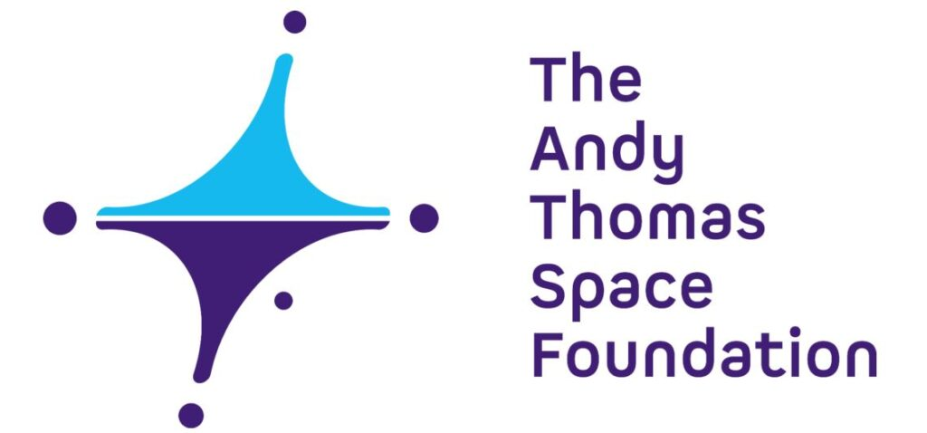 The logo of The Andy Thomas Space Foundation.